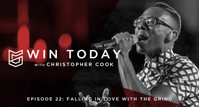 """The pursuit of your passions and dreams require so much more than talent and hard work. Joining us today is singer Brian Nhira. Brian is best known for his work on season 10 of NBC's, """"The Voice."""" Today, we're going to be talking all about the grind."""