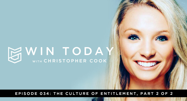 Welcome back for part two of my conversation with my good friend and former national journalist, Kayla Brandon, in which we are tackling the issue of entitlement. Today, we're going to discuss the mindset and behavior shift we need to find freedom from entitlement, why we need relationship with the generation that has gone before us, and how to stay within our specific area of personal strength in order to stay free from distraction and focused upon our total betterment.
