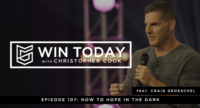 Joining us today to answer that question is New York Times bestselling author, and leader of leaders, pastor of the largest church in America, Craig Groeschel. And today, he's going to teach us precisely how to hope in the dark.