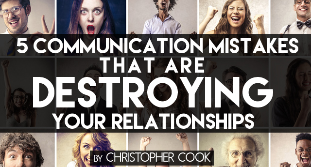 Communication mistakes in relationships